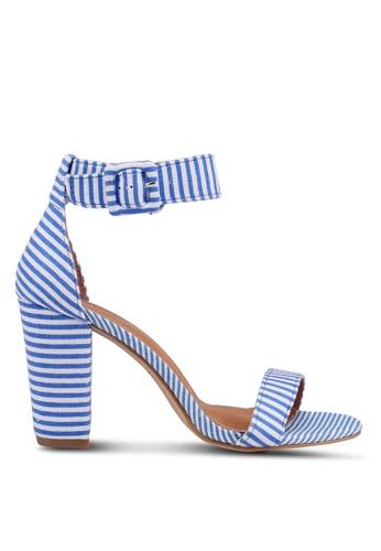 Rubi blue and multi San Sebastian Heels 3FAA4SH96F990AGS_1