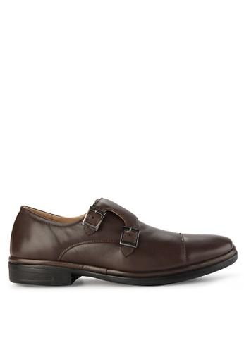 Obermain brown Genebra Monk Strap 478ADSH9E8B2F2GS_1