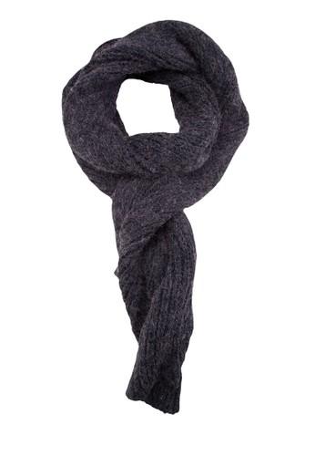 馬海毛混線針織圍巾, 飾品配件,esprit暢貨中心 披肩