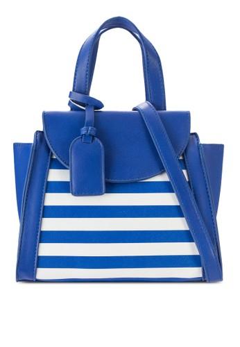 Stripe Crossbody Bag、 包、 燦色奪目SomethingBorrowedStripeCrossbodyBag最新折價