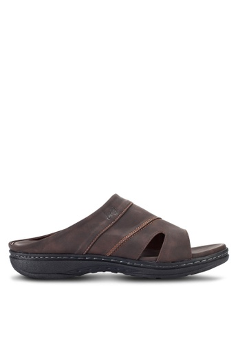 Louis Cuppers brown Casual Sandals LO977SH18RDPMY_1