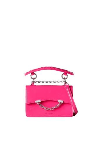 KARL LAGERFELD pink K/Karl Seven Mini Shoulderbag 8D4AFACDA67FEEGS_1