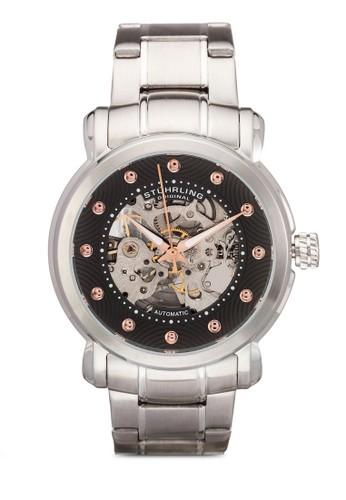 6esprit門市44 鏤空不銹鋼圓錶, 錶類, 飾品配件
