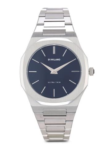 D1 Milano silver Ultrathin Silver Case Silver Metal Bracelet Watch 70C76AC4816741GS_1