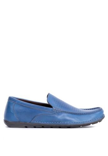Tony Perotti blue Tony Perotti Loafers Brent - Navy DE19CSH521FBC1GS_1