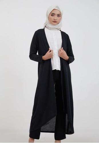 Hijabenka black Sephia Fiska Long Outer Black FF568AA135123FGS_1
