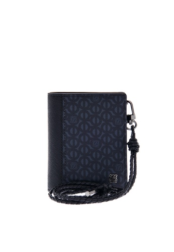 Louis Quatorze black Necklace Card Wallet  SL1NH73BL LO321AC0GVAGSG_1