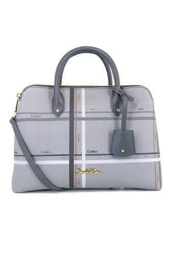 Carlo Rino grey Carlo Rino 0303881-014-28 Top-handle bag (Grey) 9706EAC354B5F9GS_1