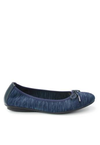 Twenty Eight Shoes 藍色 平底針織鞋 5AEEESH088CA2EGS_1
