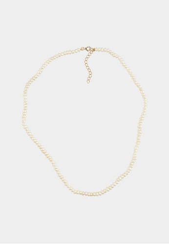 monojewelry CHARLOTTE PEARL NECKLACE BFEA0AC7915E7EGS_1