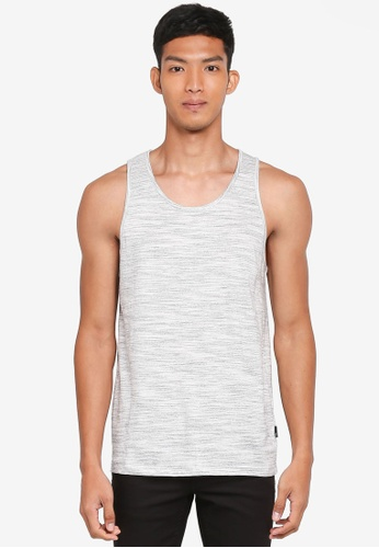 Burton Menswear London beige Ecru Textured Vest AB9B8AA2EA9452GS_1