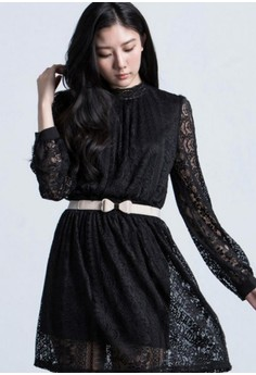 Merry In Lace Romantic Dress