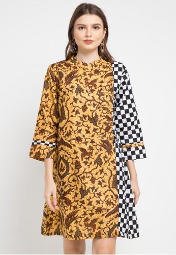 Batik Suryamas multi and brown Dress Hallonc 9F79BAAD19487FGS_1