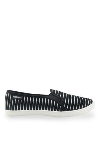 Footspot black FOOTSPOT - Casual Shoes FO296SH2UVS4HK_1