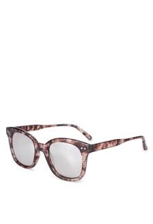 f9bb4635f0b Elitrend Unisex Half Frame Designer Glasses in Leopard Brown S  14.90.  Kendra Full Frame Sunglasses F0125GL84E3EC8GS 1