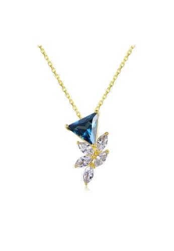 SUNRAIS silver Premium Silver S925 Silver Flower Necklace EE295AC3E2F5C2GS_1