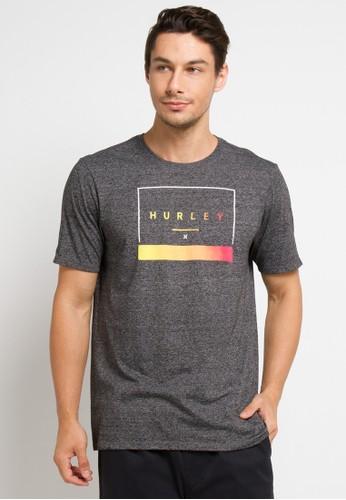 hurley grey Smt Off The Press Short Sleeve T-Shirt DAA2EAA67F61DBGS_1