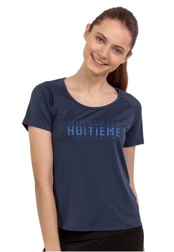 Huitieme blue HUITIÈME DRI FIT NAVY TEE. E61F0AA5F3D1DCGS_1