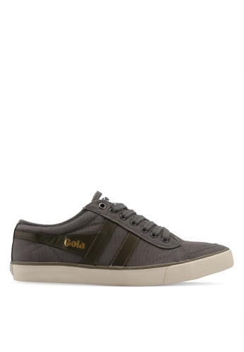 Gola grey and green Comet Sneakers 6A87FSH3B15DD5GS_1