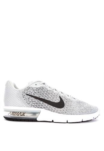 Nike grey Nike Air Max Sequent 2 Shoes BA156SH785A71EGS_1