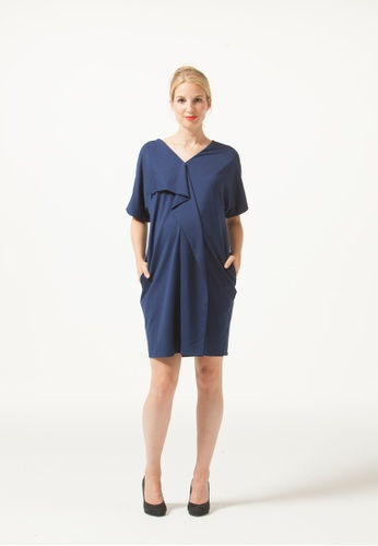 Bove by Spring Maternity blue Fayme Dress Soft Navy 2E04BAA6F358F4GS_1