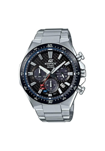 Casio silver CASIO EDIFICE EQS-800CDB-1AVUDF STAINLESS STEEL MEN'S WATCH F9600ACB80AE18GS_1