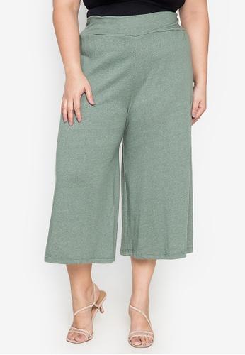 Amelia green Penelope Plus Size Pants A464FAAA883A65GS_1