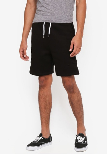 Just Hype black Insignia Shorts D4EE4AADE63F1FGS_1