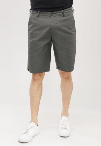 Dyse One grey Slim Shorts 25B61AA8C15A20GS_1
