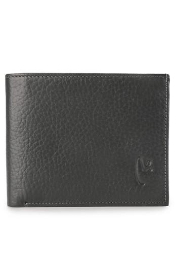 Vermont grey Vl - C002 Genuine Leather Men Wallet 3C18BAC09492E7GS_1