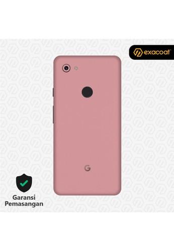 Exacoat Google Pixel 3a 3M Skin / Garskin - Blush Pink - Cut Only 23390ESF9BF051GS_1