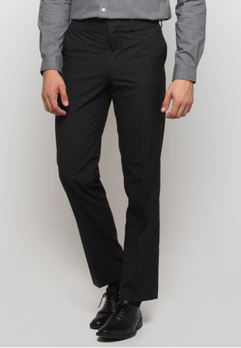 The Executive grey Long Pants Dark Grey 4E435AA17CDA0FGS_1