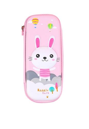 Twenty Eight Shoes pink VANSA Little Rabbit Series Pencil Case  VAK-A6674 06B81KC4B7C768GS_1