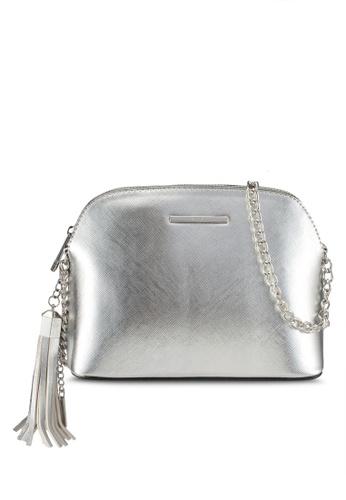 ALDO silver Elroodie Crossbody Bag 716B7ACEADC49FGS_1