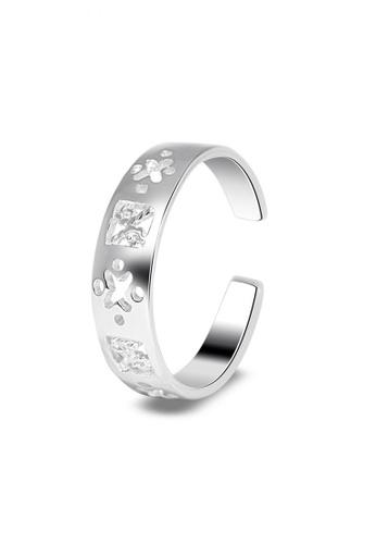 SC Tom Silver silver Butterfly Toe Ring SC872AC0JO1SPH_1