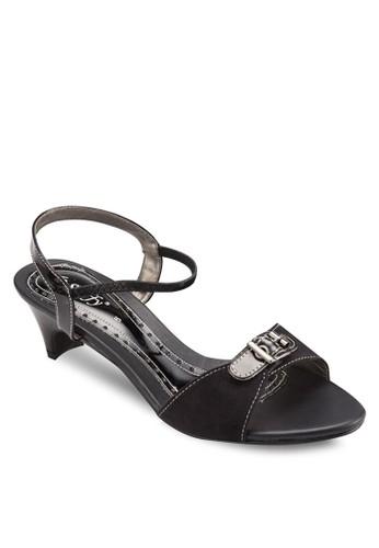 扣環尖沙咀 esprit outlet低跟涼鞋, 女鞋, 鞋