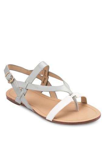 esprit地址Lora Criss Cross Sandals, 女鞋, 涼鞋