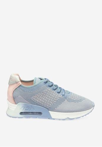 ASH 藍色 Lucky - 藍色網孔編織運動鞋 9B79ASH42C5067GS_1