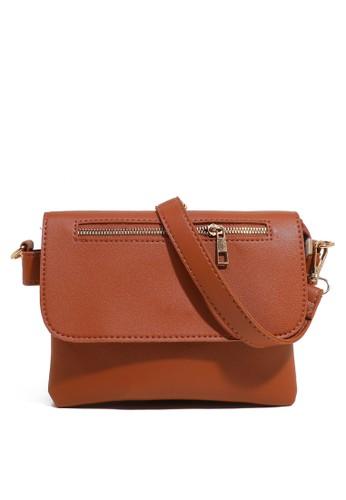 Phoebe   Chloe brown Tas Mini Simple Zipper Brown 59198ACCD22717GS 1 2b3cb97bc2