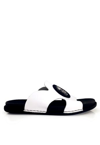 Twenty Eight Shoes white Stylish Cowhide Flip Flops VMS190 75A03SH07C032BGS_1