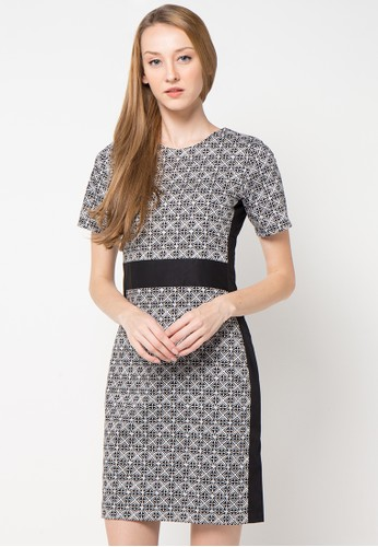 Bateeq black Sleeveless Cotton Print Dress BA656AA48WQPID_1