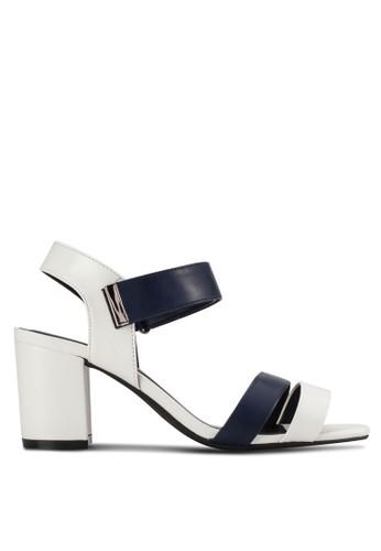 Block Mid Heel Sandals
