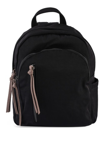 NUVEAU black Oxford Nylon Backpack D69EEACE23F945GS_1