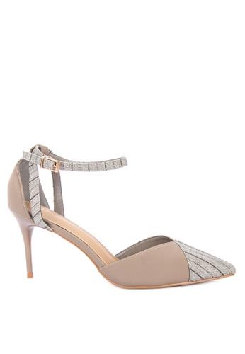 d5c8b19a4509 Shop Primadonna Closed Toe Ankle Strap High Heels Online on ZALORA ...