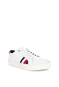 270b82e5c7 Tommy Hilfiger Corporate Leather Sneakers Php 7,000.00. Sizes 41 43
