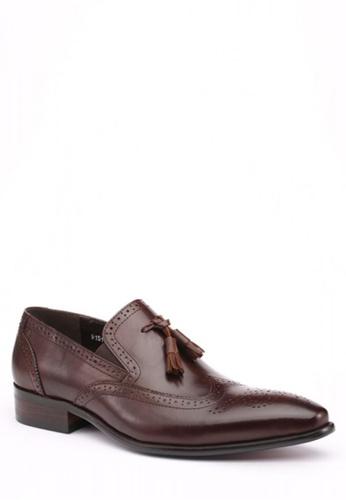 Kings Collection brown Cafaro Derbies Shoes KI877SH50ZKBPH_1