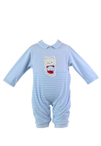 Mini Zo blue Thomas Baby Boy Romper Blue CFFBDKA84A7CF6GS_1