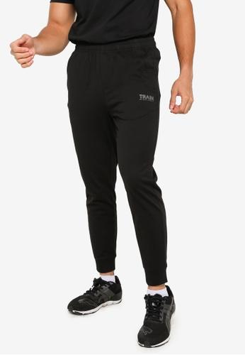 361° black Cross Training Knit Pants C7E3CAAEE98980GS_1