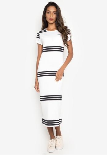 Le Tigre white Ladies Dress LE798AA0IUF7PH_1