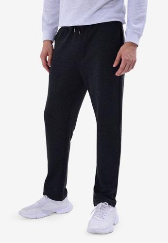 LC Waikiki 黑色 Standard Fit Sweatpants BC5E5AA3A93205GS_1